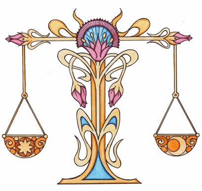 libra on the autumnal equinox when day and night are in balance libra ...